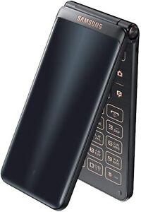 Samsung Galaxy Folder 2 G1650 16GB GSM Factory Unlocked - Black