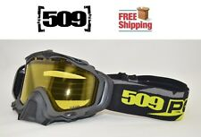 509 SINISTER X5 SNOWMOBILE GOGGLE LIME POLARIS W/ YELLOW TINT SNOW SKI BOARD NEW