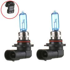 2x 9006/HB4 6000K Xenon Gas Halogen Headlight Super White Light Bulbs 100W 12V