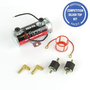 Genuine Facet Silver Top  fuel Pump up to 200 BHP Fast Road/Race