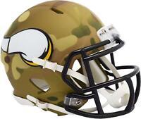 Riddell Minnesota Vikings Camo Alternate Revolution Speed Mini Football Helmet