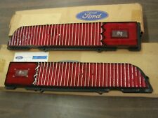 NOS OEM Ford 1970 Torino Cobra Tail Light Lamp Lenses Lens Pair