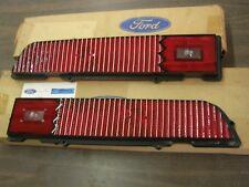 NOS OEM Ford 1970 Torino Cobra Tail Light Lamp Lenses Lens Pair