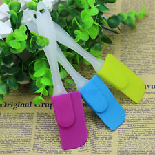 1x Cooking Baking Scraper Cake Spatula Butter Mixer Silicone Kitchen Tool