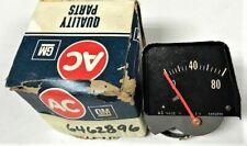 ORIGINAL AC GM NOS 1968 1974 NOVA CONSOLE OIL PRESSURE GAUGE BLACK # 6462896