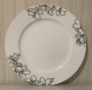 "Ciroa Forma Black 11 1/4"" Dinner Plate"