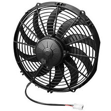 "SPAL USA 30102030 12"" High Performance Curved Blades Fan Pusher / PUSH 1360 CFM"