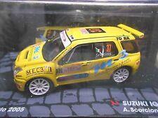 SUZUKI Ignis S1600 Rallye Monte Carlo 2005 #37 Scorcioni m3 IXO Altaya S! 1:43