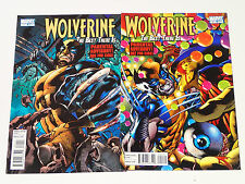 WOLVERINE The Best There Is  issues #1 & 2  Marvel Comics 2011 VF