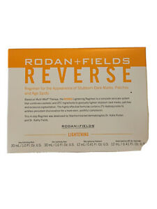 Rodan + Fields Reverse Lightening Regimen Travel Size **Discontinued Regimen**