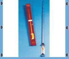 CB Antena de estación base 10 y 11 metros Sigma Veneno 1/2 Wave Varilla De Plata