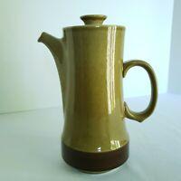 Vintage Ekco Eterna Canoe Coffee Pot Teapot Japan Genuine Stoneware Brown 9 Inch
