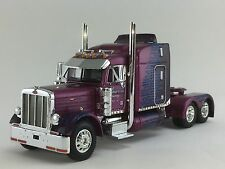 "1/64 DCP PURPLE PETERBILT 379 W/ 63"" SLEEPER"