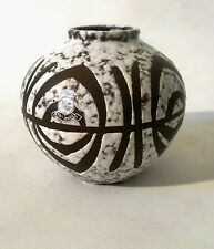 """60 s """"il"""" céramique vase"""" 603 10"""" West German Mid Mod CERAMIC CERAMIQUE ANNEES 60"""