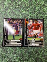 Panini WCCF 2004-05 Cristiano Ronaldo 2005-06 Lionel Messi Rookie cards set RC