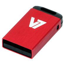 V7 Nano 8GB USB 2.0 memoria Flash PEN Drive - rojo