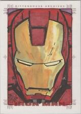 Iron Man Movie - Brian Kong Sketch Card