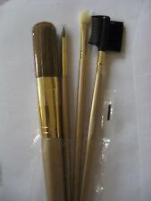 NUOVO L'OREAL PARIS Make Up Brush Set 4 Pennelli per labbra Occhi sopracciglia Foundation
