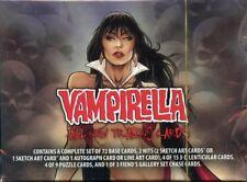 Vampirella 2012  New Series Factory Sealed Card Set
