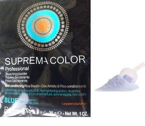 Poudre Décolorante bleue 30 G  (Décoloration - mèches - oxydant - coloration)