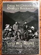 Ewan McGregor Charley Boorman LONG WAY ROUND ~ Epic Motorcycle Bike Trek UK DVD