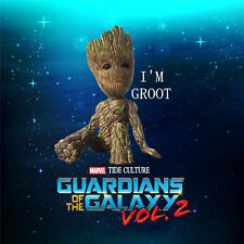 Hot Guardians of the Galaxy Vol. 2 Groot Sitting Baby PVC Figurine Toy Figure