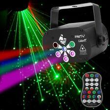 Laser Bühnenbeleuchtung 120 Muster Projektor RGB+UV Bewirken DJ Club Party Licht