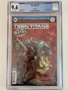 Teen Titans #12 (2nd Printing) - CGC 9.6  [1st Full App. of Batman Who Laughs]
