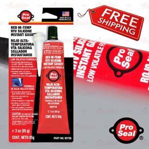 Pro Seal High Temp Silicone Glue for BREMBO BRAKE CALIPER COVER KIT installation
