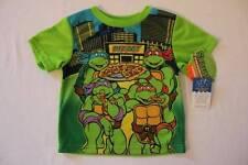 NEW Toddler Boys Pajamas Top 3T Shirt TMNT Teenage Mutant Ninja Turtles Pizza PJ