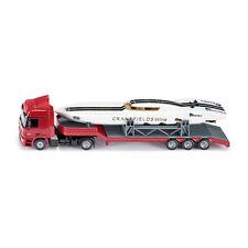 Siku 3936 Mercedes Actros Sattelschlepper mit Power Boot rot Maßstab 1:50 NEU! °