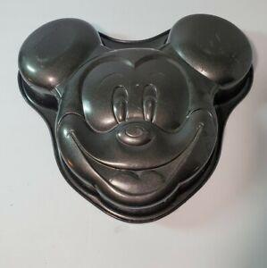 Wilton Disney Mickey Mouse Face Cake Pan Baking Mold