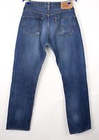 Levi's Strauss & Co Hommes 501 Jeans Jambe Droite Taille W36 L34 BBZ223