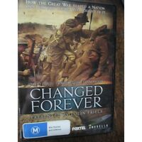Australian WW1 Changed Forever History Channel Doco New Release DVD