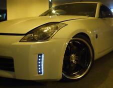 JDM White LED DRL Reflector for 2006-2008 Nissan 350Z Pair