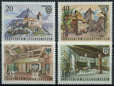 Liechtenstein 1981 SG#775-8 Gutenberg Castle MNH Set #D1205