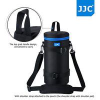 JJC Waterproof Deluxe Lens Pouch Bag with Shoulder Strap for DSLR Camera Lens