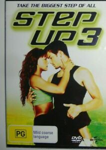 Step Up 3 DVD Dance Movie - SAME / NEXT DAY FREE POSTAGE