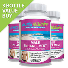 Ultra Male Performance Enhancement Pills, Libido & Stamina Supplement Tablets