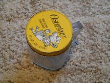 Old Vintage Osterizer Liquefier-blender mini blend container Jar with handle