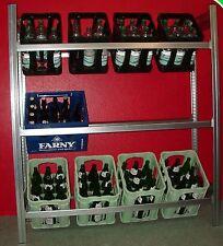 Getränkekistenregal Flaschenregal  Hoch1,5m .EXTRA-Tief 44cm  Breit1,3m  wieBild