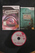 WII : MANHUNT 2 - Completo, ITA ! Compatibile con Wii U
