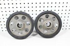 Nos Vintage 73 Moto-Ski MS-F Snowmobile Front Axle Wheel Set 040049