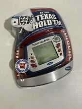 Texas Hold'em World Poker Tour Elec.Handheld 2005 Sealed New Game