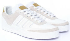 Neu UK9,5 adidas Stripes DB Leather x David Beckham White Tan kieth obyo zx js