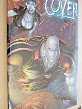 1999 AWESOME COMICS THE COVEN VOLUME 2, #1 DYNAMIC FORCES CHROMIUM COVER W/COA