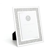 "Mirror & Crystal 5"" x 7"" Picture Photo Frame - Sparkly Gift Idea"