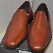 Edinburgh Modern Venetian Leather Loafer Cognac US size 11-11.5 EU size 45
