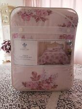 Rachel Ashwell Simply Shabby Chic Full/Queen Pink Blush Bouquet Comforter Set