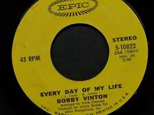 "BOBBY VINTON 45 RPM ""Every Day of My Life"" ""You Can Do It To Me Anytime"" VG-"